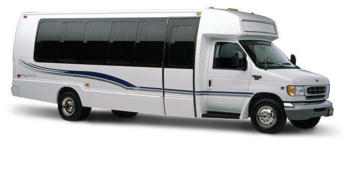 18 Passenger Limo Bus