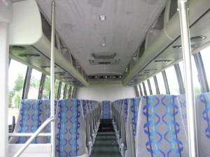 35 Passenger Shuttle Bus Interior