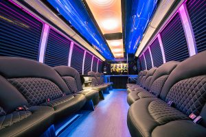 24 Passenger Party Limo Bus