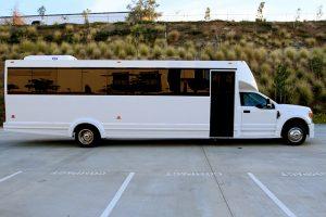 27 passeneger limo bus
